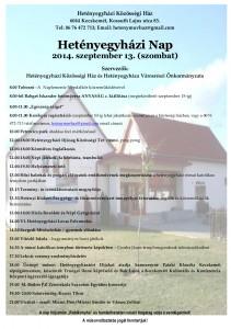 Hetenyegyhazi_Nap_program