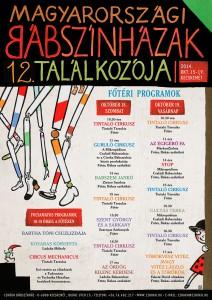 Babszinhazak Talakozoja 2014 musor plakat