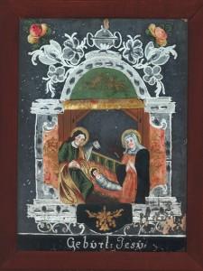 Jézus születése - Dél-cseh tükörkép