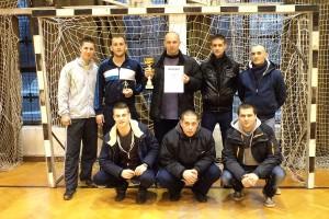 A tornagyőztes Kékfény FC csapat