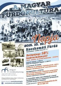 Magyar Fürdőkultúra Napja plakát