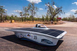 MegaLux az ausztráliai versenyen út közben